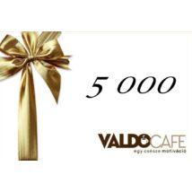 Ajándékutalvány - 5 000 Ft